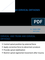 Trunk and Cervical Orthosis