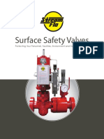 Surface Safety Valves