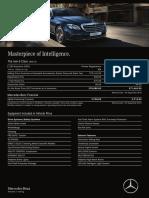 Mercedes benz 3E 250 EXCLUSIVE Pricelist Peni