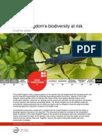 United Kingdom s Biodiversity at Risk Fact Sheet May 2013