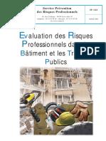 Evaluation des risques professionnels dans le BTP