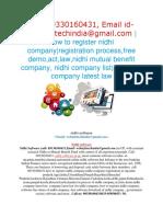 Nidhi Software in kolkata