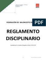 Reglamento Disciplina Deportiva 1819