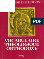 (Cathechèse Orthodoxe) Paula Minet, André Lossky-Vocabulaire Théologique Orthodoxe-Cerf (1985)