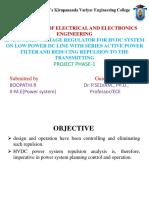 An Dynamic Voltage Regulator