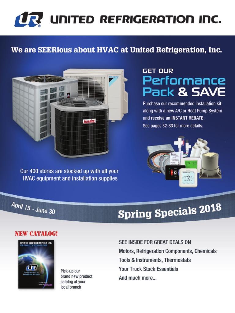 century d1026 wiring 220 wiring diagram 2018 spring specials pdf air conditioning hvac  2018 spring specials pdf air