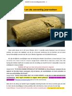 Daniël 9 en de zeventig jaarweken - 2019.doc