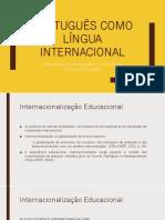 GT - Português como língua Internacional