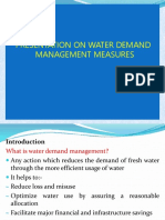 Demand Managment Measures
