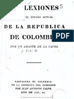 1822 Reflexiones sobre el estado actual de Colombia.pdf