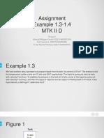 Example 1.3-1.4
