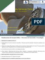 Fundamentos Da Geracao Eolica