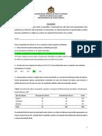 avaliação de bioestastitica