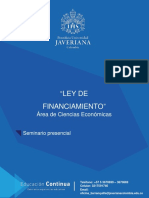 Ley de Financiamiento 2019