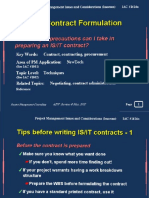 Contract Formulation - Slide