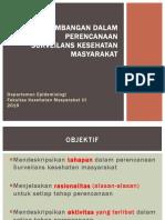 03 Pertimbangan perencanaan surv kesmas 2019.ppt