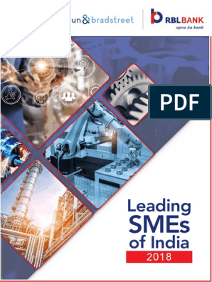 Leading-SMEs-of-India-2018 pdf | Small And Medium Sized