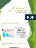 Utopias y Realidades Del Litio en Bolivia