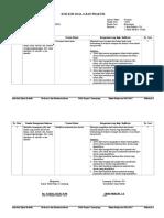 Kisi-kisi Ujian Praktik PKU Kelas 12 Tahun 2017