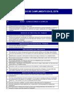 Check List Decreto 61797