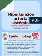 Hipertensión arterial sistémica y crisis hipertensiva