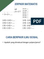 Ptk Dosen Berpikir Matemetis 01