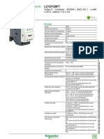 Lc1d128f7 Contactor Tetrapolar