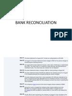 Bank recon.
