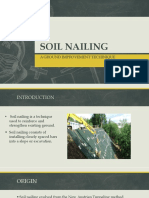 Soil Nailing Final PPT