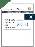 Mapeo de Alcance de Procesos