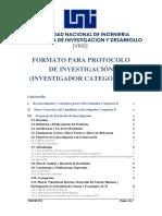 Protocolo de investigación (categoría B)