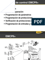 MANUAL PANEL DE CONTROL CATERPILLAR EMCPII