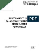 ME LAB # 3 Diesel Powerplant