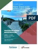 2019 NEHCC Registration & Program