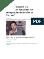 Los feminicidios y la legalización del aborto son emergencias nacionales en México.docx