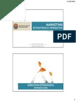 Marketing Estrategico Operativo - Introduccion 01