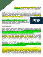 Study Regarding the Pakistan and Iran Relations.docx