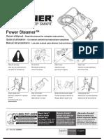 Wagner Power Steamer Manual