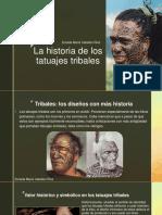 Zoraida Maria Ceballos- La historia de los tatuajes tribales