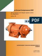 Compresor VMY Para Refrigeracion