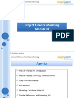 Project finance modelling