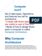 What is Computer Architecture.docx
