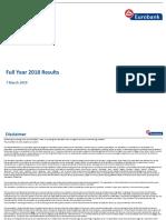 4q2018 Results Presentation
