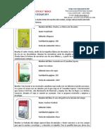 Libros 5°  2019