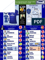 Premier League week 28 190226 Cardiff - Everton 0-3