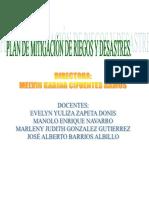 Plan de Mitigacion de Riesgos