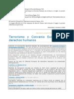 Terrorismo y Convenio Europeo de Derechos Humanos. Ficha de Casos