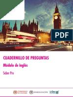 Cuadernillo Preguntas Saber Pro