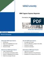 IBM Cognos Express Reporter - Administration