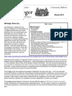 Senator Krueger's Community Bulletin - March 2019